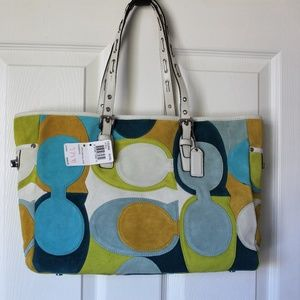 Coach Optic Large Gallery Tote FS3682